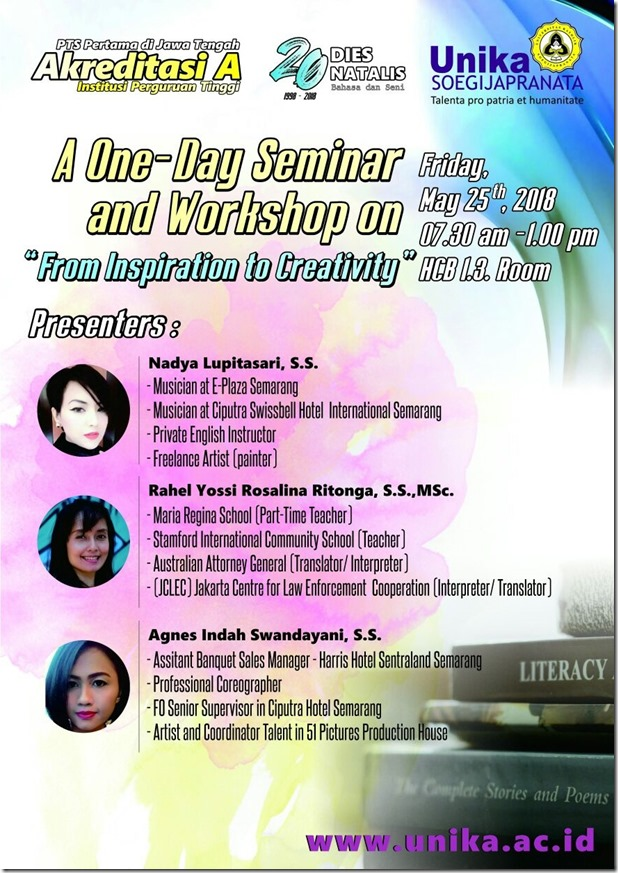 Fla - One Day Seminar dan Workshop