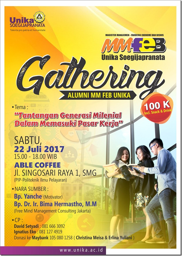 Gathering Alumni MM FEB