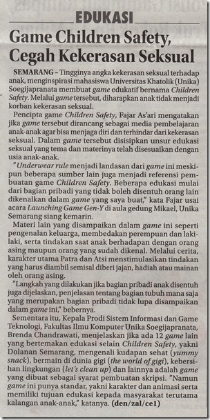 JWP 04_08_2016 Game Children Safety