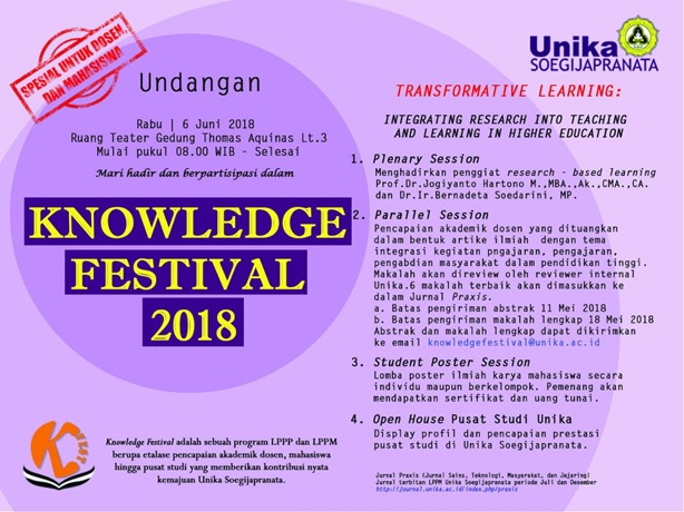 Knowledge Festival 2018