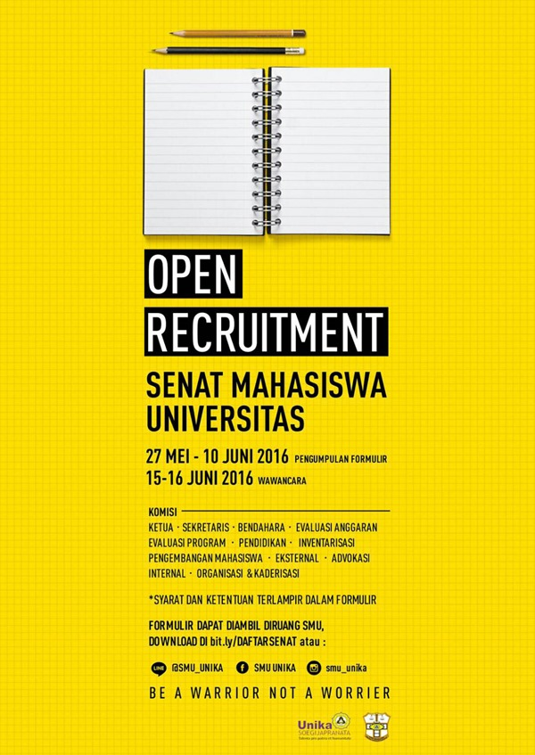 Open Recruitment Senat Mahasiswa