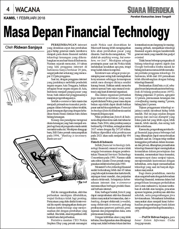 SM 01_02_2018 Masa Depan Financial Technology