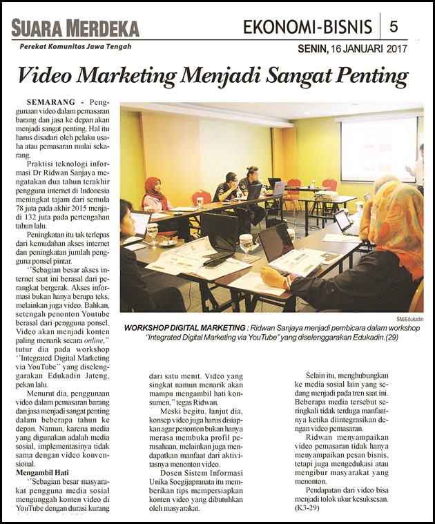 SM 16_01_2017 Video Marketing Menjadi Sangat Penting