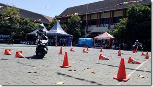 TRB 23_01_2017 Total Oil Indonesia Gelar Safety Riding Clinic di Unika Soegijapranata