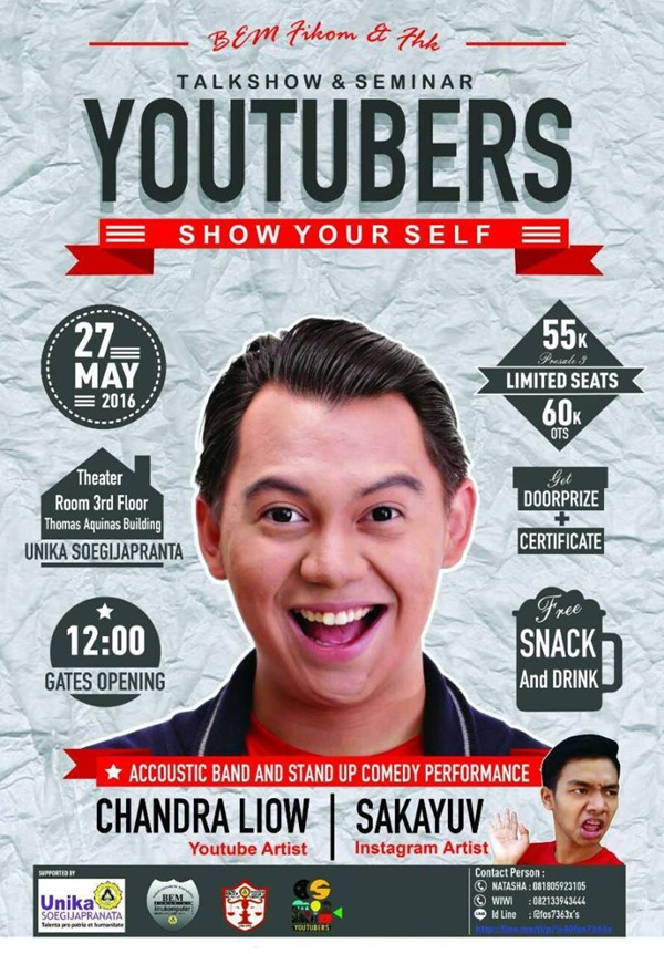 Talkshow & Seminar Youtubers